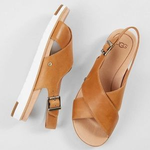 UGG • Kamile Leather  Sandals
